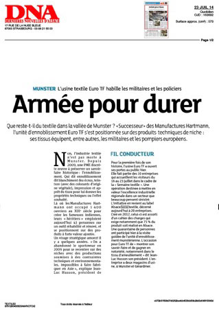 20140723_DNA_lusine_textile_euro_TF_habille_les_militaires_et_les_policiers