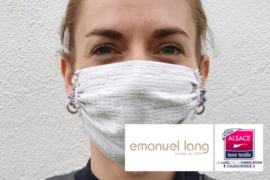 Masque barrière Emanuel Lang fabriqué en France