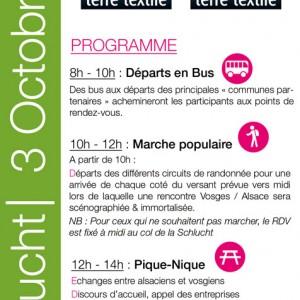 Programme de la journée de mobilisation du samedi 3 octobre